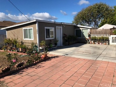 Grover Beach Single Family Home For Sale: 1073 Nice Avenue