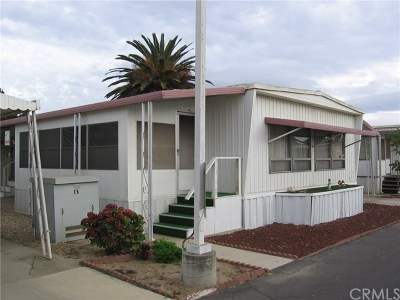 Santa Maria Single Family Home For Sale: 1095 W McCoy Lane #104