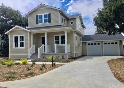 Pismo Beach, Arroyo Grande, Grover Beach, Oceano Single Family Home For Sale: 1047 Ash Street