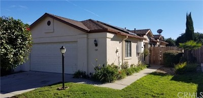 Nipomo Single Family Home Active Under Contract: 309 Sunnyslope Lane