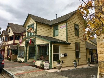 San Luis Obispo County Commercial Lease For Lease: 132 Bridge Street