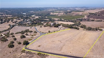 San Luis Obispo County Residential Lots & Land For Sale: 626 La Tapadera Lane