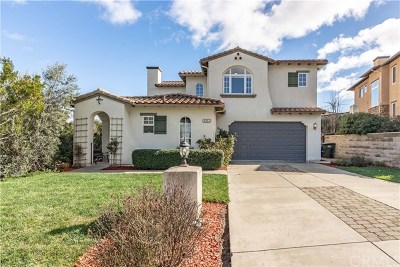 San Luis Obispo CA Single Family Home For Sale: $1,259,000