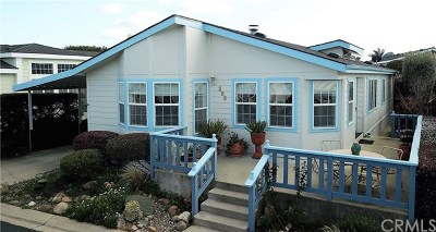 Arroyo Grande Mobile Home For Sale: 765 Mesa View Drive