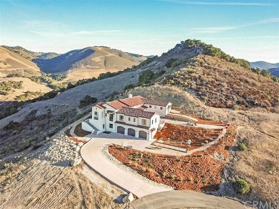San Luis Obispo County Single Family Home For Sale: 634 La Tapadera Lane