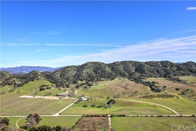 San Luis Obispo County Single Family Home For Sale: 10510 La Ranchita Lane