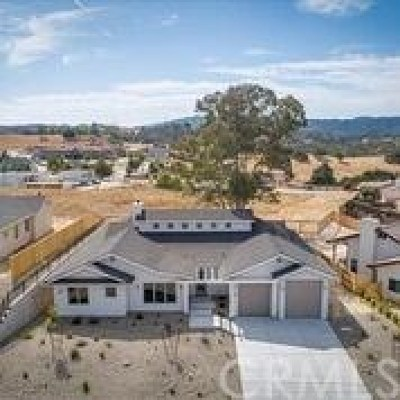 Paso Robles Single Family Home For Sale: 3480 Lakeside Village Drive