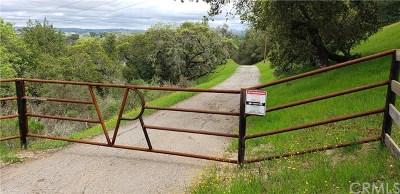 Santa Margarita, Templeton, Atascadero, Paso Robles Residential Lots & Land For Sale: 14005 El Monte Road