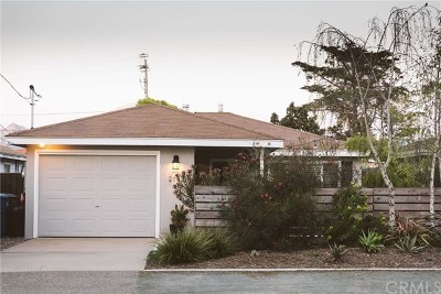 Los Osos Single Family Home For Sale: 2142 Bush Drive