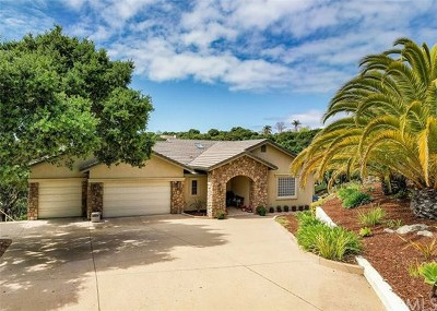 Arroyo Grande Single Family Home For Sale: 575 Jenny Place