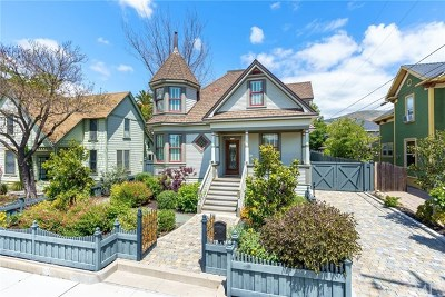 San Luis Obispo Single Family Home For Sale: 1516 Broad Street