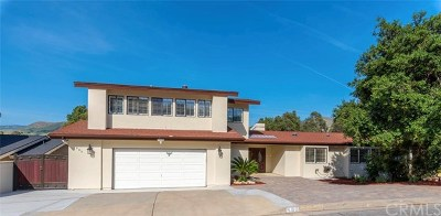 San Luis Obispo CA Single Family Home For Sale: $1,149,000