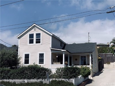 Arroyo Grande Single Family Home For Sale: 551 E Branch Street