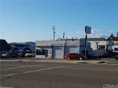 Grover Beach Commercial For Sale: 583 W Grand Avenue