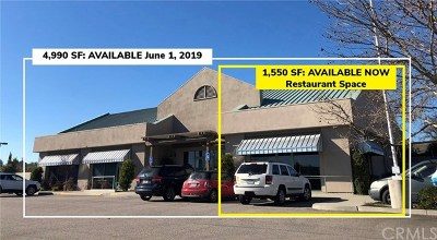 Paso Robles Commercial Lease For Lease: 1759 Ramada Drive