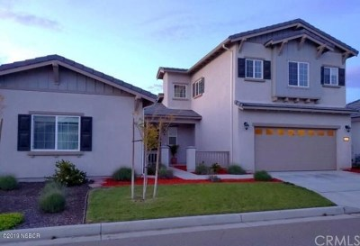 Santa Maria Single Family Home For Sale: 1461 Wynndel Way