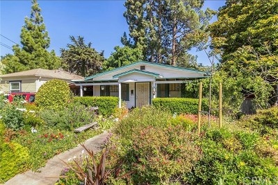 San Luis Obispo Single Family Home For Sale: 765 Lincoln Street