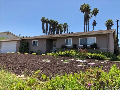Santa Maria Single Family Home For Sale: 1116 Via Alta