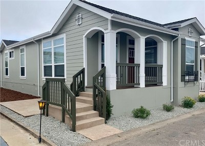 Pismo Beach Mobile Home For Sale: 201 Five City Drive