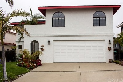 Pismo Beach CA Single Family Home Active Under Contract: $859,900