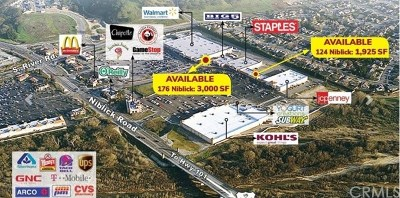 San Luis Obispo County Commercial Lease For Lease: 124 Niblick Road