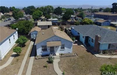 Santa Maria Single Family Home For Sale: 505 E Chapel Street