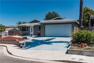 Arroyo Grande Single Family Home For Sale: 614 Harrison Street