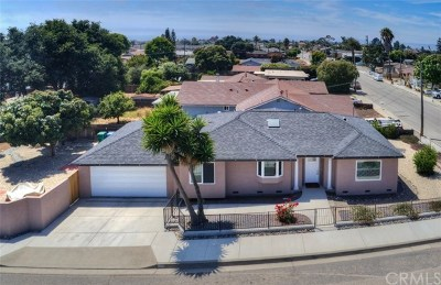 Grover Beach Single Family Home For Sale: 489 N 14th Street