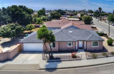 Pismo Beach, Arroyo Grande, Grover Beach, Oceano Single Family Home For Sale: 489 N 14th Street