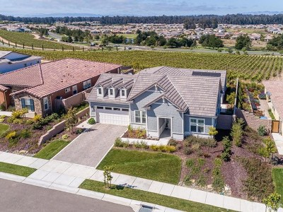 San Luis Obispo County Single Family Home For Sale: 1217 Trail View Place