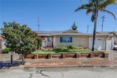 Santa Maria Single Family Home For Sale: 3034 Montano Drive