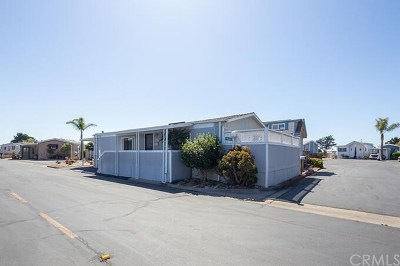Grover Beach Mobile Home For Sale: 319 Hwy 1