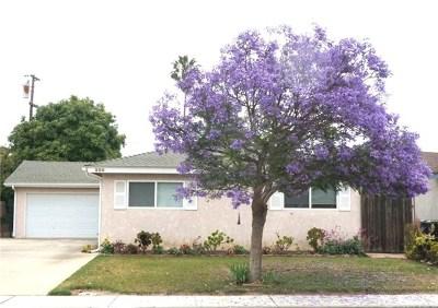 Santa Maria Single Family Home For Sale: 220 N Palisade Drive