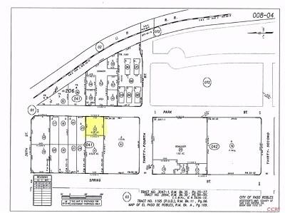 San Luis Obispo County Commercial For Sale: Park Street