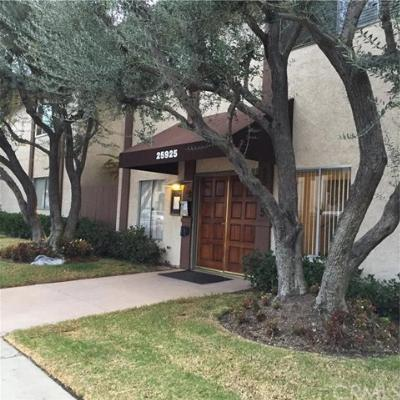 Condo/Townhouse Leased: 25925 Narabonne #32
