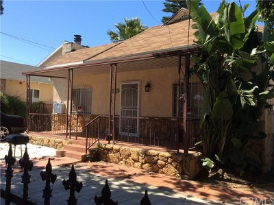 San Pedro Multi Family Home For Sale: 470 W Santa Cruz
