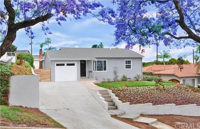 Rancho Palos Verdes Single Family Home For Sale: 1853 Trudie Drive