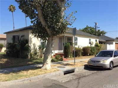 Lynwood Single Family Home For Sale: 4063 Cortland Street