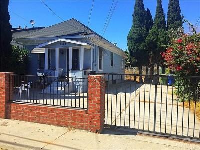 San Pedro Single Family Home For Sale: 442 W Sepulveda Street