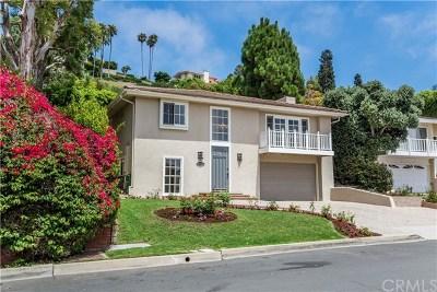 Palos Verdes Estates Single Family Home For Sale: 2412 Via Carrillo