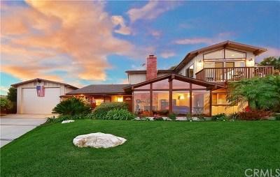 Rancho Palos Verdes CA Single Family Home For Sale: $2,298,000