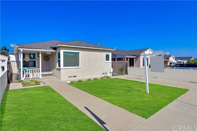 San Pedro Single Family Home Active Under Contract: 1374 W Summerland Avenue