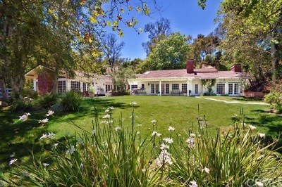Los Angeles County Single Family Home For Sale: 5 Chuckwagon Road