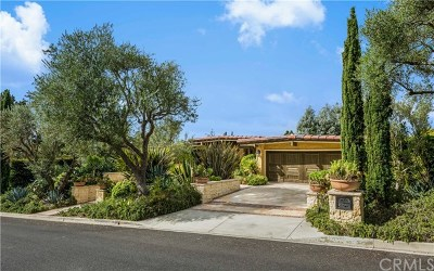 Palos Verdes Estates Single Family Home For Sale: 2405 Via Sonoma