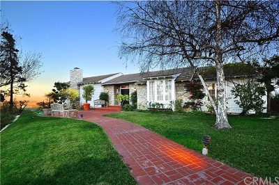 Rolling Hills Single Family Home For Sale: 8 Upper Blackwater Cyn Road