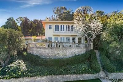 Single Family Home For Sale: 2720 Via Elevado