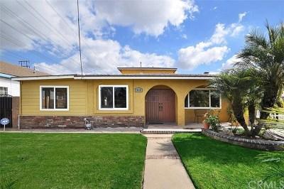 Torrance Single Family Home For Sale: 18628 Prairie Avenue