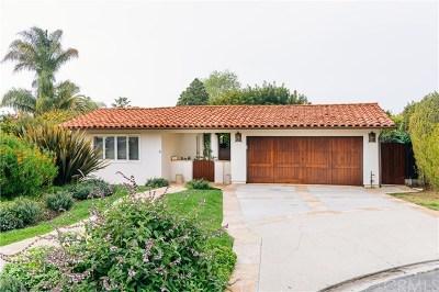 Single Family Home For Sale: 1041 Via Palestra
