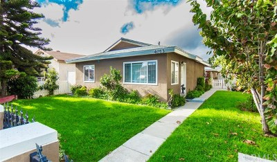 Lawndale Multi Family Home For Sale: 4011 W 160th Street