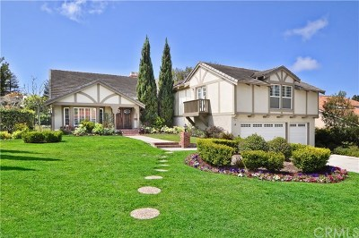 Rolling Hills Estates Single Family Home For Sale: 10 Country Meadow Road